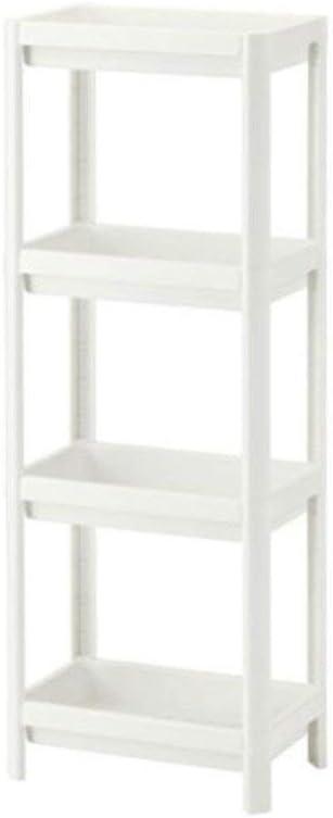 Ikea 403.078.66 VESKEN - Estantería (23 x 100 cm), color blanco, No