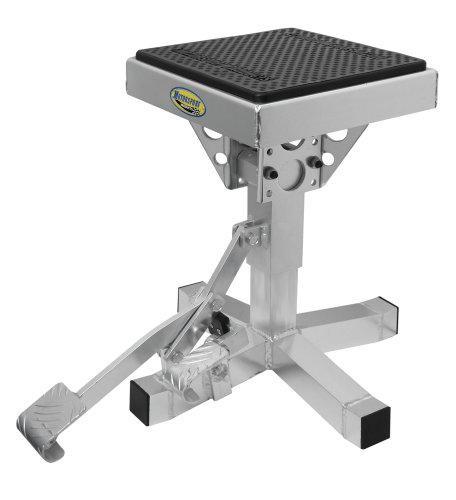 Motorsport Products 92-4001 Silver P12 Adjustable Lift Stand by Motorsport Products (Image #1)