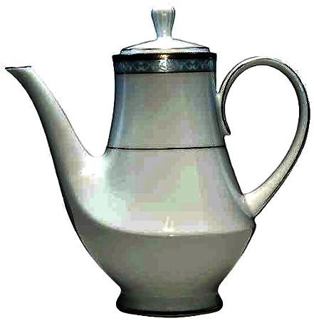 ca6ef3d6aa82 Noritake Hampshire Platinum Coffee Pot: Amazon.co.uk: Kitchen & Home