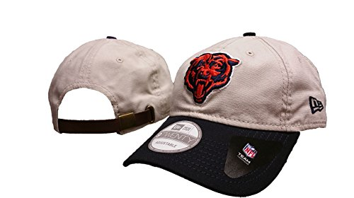 NFL Chicago Bears Core Shore Adjustable Leather Strap Hat, New Era - New Era Leather Cap