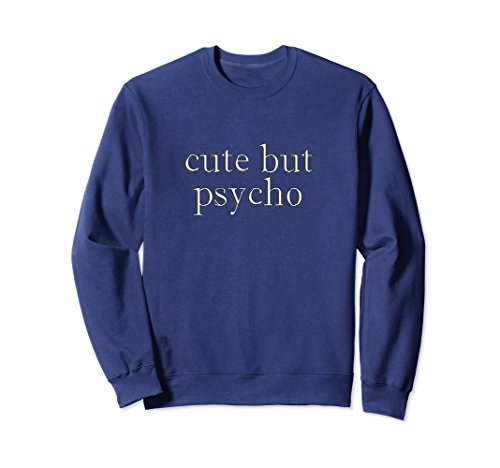 Unisex Cute But Psycho Funny Girlfriend Baby Toddler Sweatshirt 2XL (Cute But Scary Halloween Costumes Ideas)