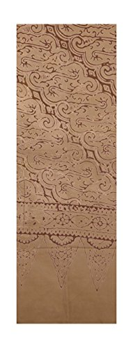 Batik Scarf - Javanese, Some Color Variation!