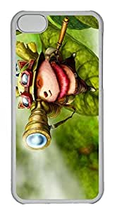 iPhone 5C Case, iPhone 5C Cases - Anti-Scratch Crystal Clear Hard Back Case for iPhone 5C Teemo League Of Legends 5 Shock-Absorption Hard Back Bumper Case for iPhone 5C hjbrhga1544