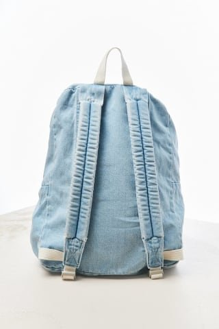 The Style Club - Faces of Love Denim Backpack by CLUB STYLE (Image #5)