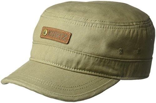 A. Kurtz Men's TAB Legion Cap, Military Brown, OSFA ()