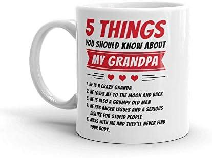 5 cosas que debes saber acerca de mi abuelo taza de café ...