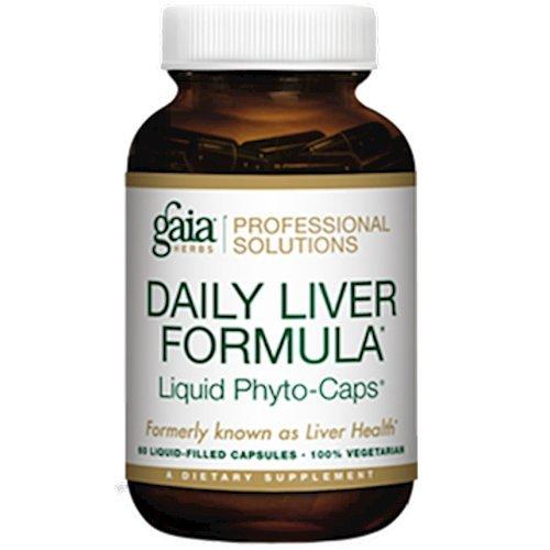 Gaia Herbs (Professional Solutions) Daily Liver Formula 60 lvcaps