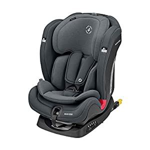Maxi-Cosi Titan Plus Comfortable Toddler/Child Car Seat with ClimaFlow feature, Group 1-2-3 Convertible with ISOFIX, 9…