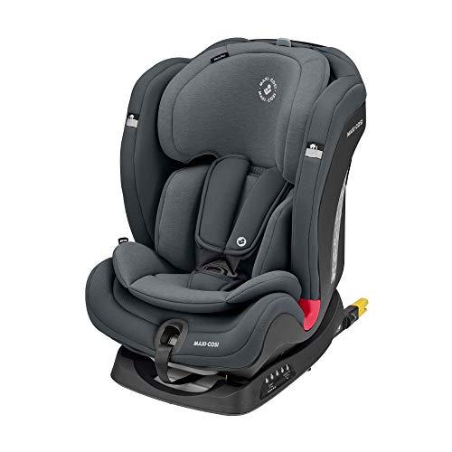 Maxi-Cosi Titan Plus Silla Coche bebé grupo 1/2/3 isofix, 9 – 36 kg, silla auto bebé reclinable con reductor, Clima Flow…