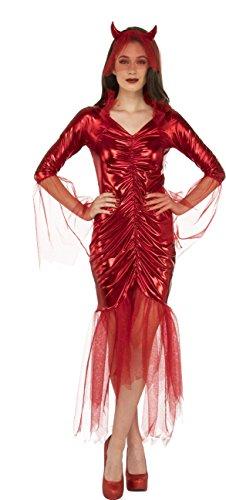 Rubie's Women's Devil Bride Costume, Red,