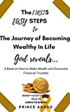 The First 5 Easy Steps To The Journey of becoming Wealthy in Life: God reveals: A Book on How to Make Wealth and Always Overcome Financial Troubles
