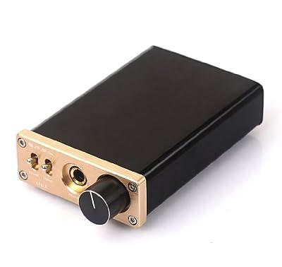 SMSL sApII TPA6120A2 Big Power High Fidelity Stereo Headphone Amplifier golden