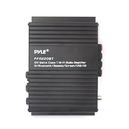 Wireless Bluetooth Power Amplifier System - 300W 5.1 Channel Home Theater Surround Sound Audio Stereo Receiver Box w/HDMI, RCA, Headphone, Remote, For Subwoofer Speaker - Pyle PT592A by Pyle (Image #3)