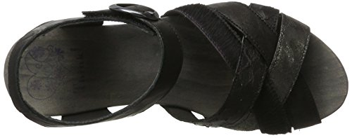 Think! Women's Zunda Sling Back Sandals, Grey Black (Sz/Kombi 09 Sz/Kombi 09)