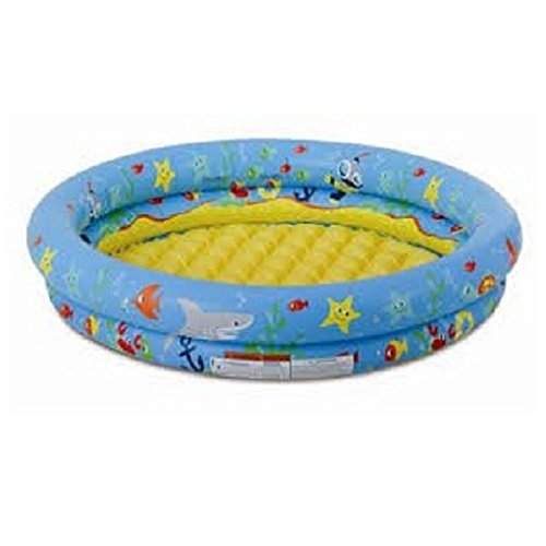 2-Ring Pool Soft Inflatable Base for Extra Comfort 4 ft. wide 4 Foot Pool