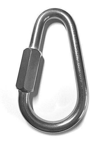 Stainless Steel 316 Pear Shape Quick Link 9/16'' Marine Grade (14mm) by IM VERA