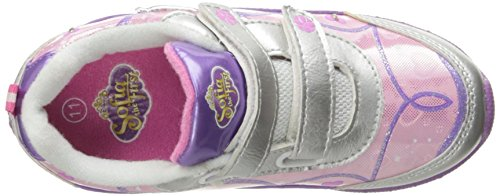 Disney , Baskets pour fille Rose blanc/rose 28.5