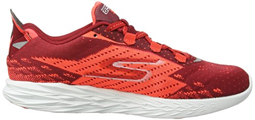 Red Uomo Orange Outdoor 5 Run Go Rosso Scarpe Sportive Skechers xY8RBWw