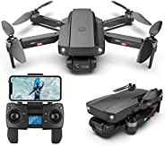 XFTOPSE HJ188 Drone com Câmera 6K Profissional 50 Zoom, 5G Wifi FPV Drone GPS com Motor Brushless, Dobrável RC