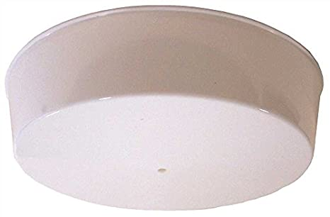 Simkar PC555-22 Ceiling Fixture with Plastic Cover, Uses One 22 Watt ...