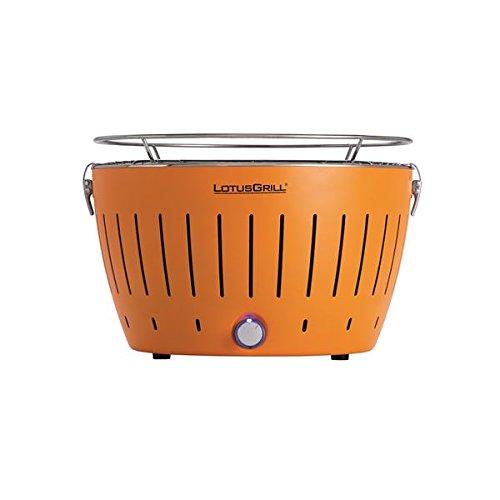 無煙BBQグリル ロータスグリル オレンジ B01M5CDQU0
