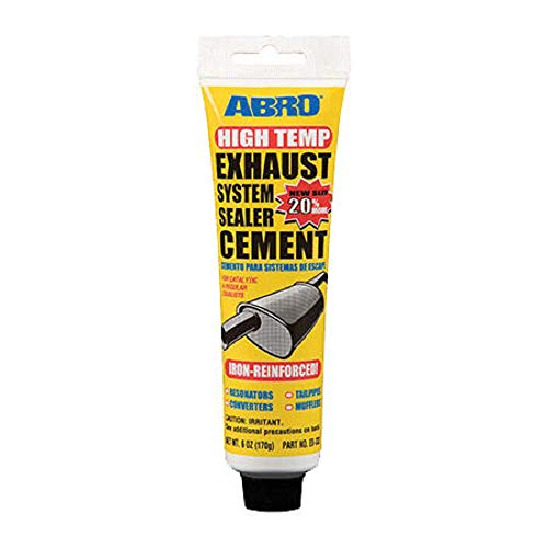 Abro Exhaust System Silencer Pipe Sealer Cement Repair Putty Paste 170g, Exhaust Assembly Paste Sealant Sealer Joints: