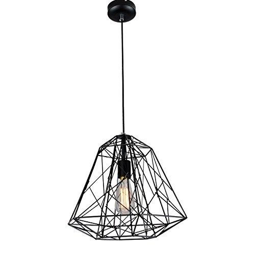 lightess lmpara vintage lmpara industrial lmpara de techo lmpara colgante lmpara de pantalla lmpara de jaula