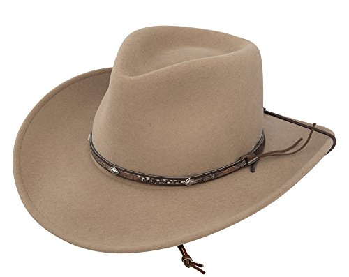 58edee590fc17 Stetson Mens Mountain Crushable Cowboy
