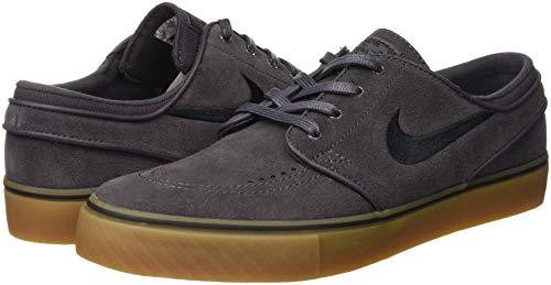 thunder Zoom Skateboard Chaussures Light Gris Noir B Hommes Pour Stefan Nike Grey Janoski Gum 069 De 1x4nz