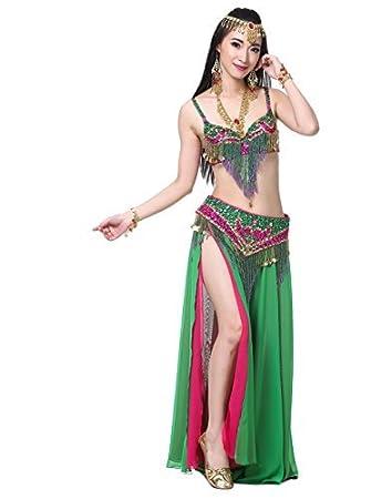 Dance Fairy verde Danza del Vientre las mujeres de La correa de ...