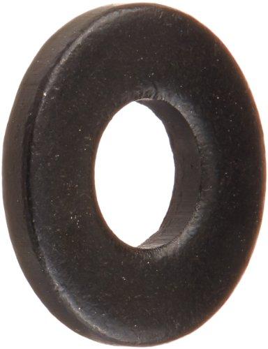 Steel Flat Washer, Black Oxide Finish, ASME B18.22.1, No. 8