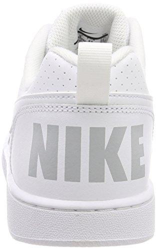 Uomo Borough white Scarpe Low white Court Da gs white 100 Bianco Nike Basket 40H15xq
