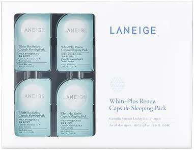 laneige, White Plus Renew Capsule Sleeping Pack 3 ml x 16ea: Amazon.es: Belleza