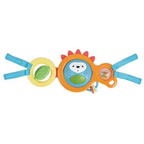 Skip Hop Baby Explore and More Take-Along Carrier Toy Bar, Multi, Hedgehog