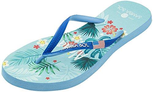 Samba Sol Hommes Collection Drapeau Flip Flops - À La Mode Et Confortable. Sandales À La Mode Et Classiques Pour Hommes. Hawaii