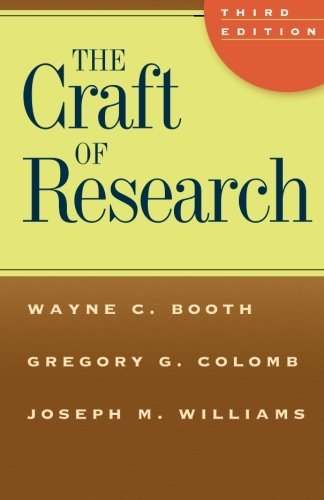 Download The Craft of Research, Third Edition (Chicago Guides to Writing, Editing, and Publishing) Pdf