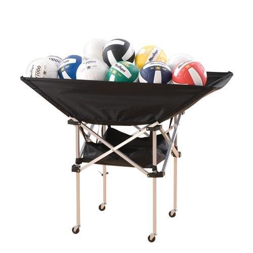 Tandem Sport Colossal Volleyball Ball Cart, Outdoor Stuffs