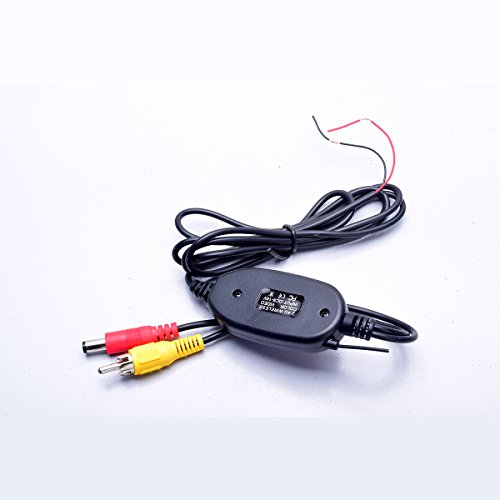 Reverse Trigger Wire For Backup Camera: Wireless Video Cable W/ Backup Trigger Wire Tx & Rx For