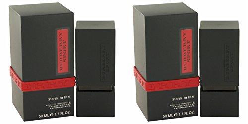 Bûrberry Spôrt Còlogne For Men 1.7 oz Eau De Toilette Spray + a FREE 2.6 oz Deodorant Stick (PACKAGE OF - Burberry Sport