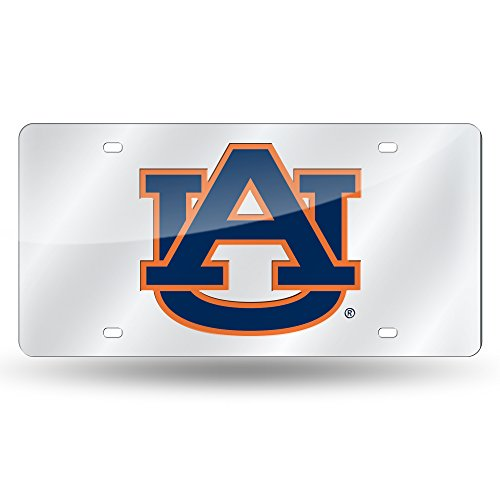 Rico Auburn Tigers Official NCAA 12 inch x 6 inch Plastic License Plate by 605100 by Rico
