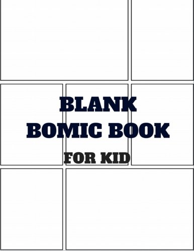 Blank Comic Book:Create Your Own Comics With This Comic Book Journal Notebook: 8.5