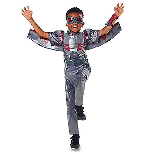 America Falcon Costume Captain (Disney Store Falcon Costume for Kids - Captain America: Civil War - Size)