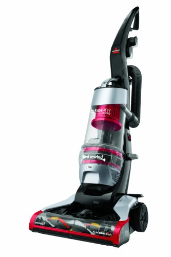 Buy bissell 1819 cleanview rewind deluxe upright bagless vacuum