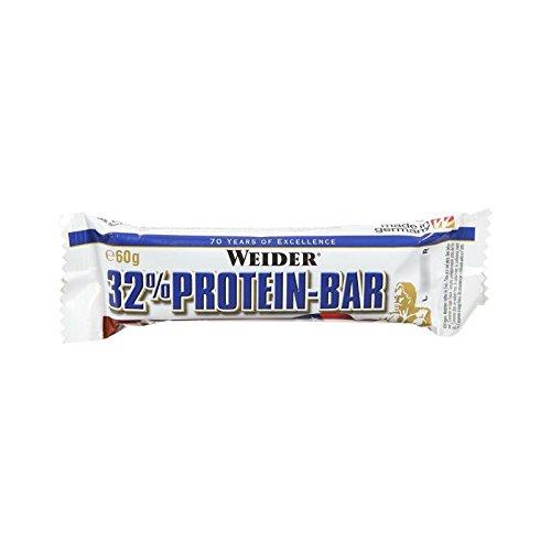 (Weider Nutrition 32 Percent Protein Chocolate Bar 60g by Weider Nutrition)