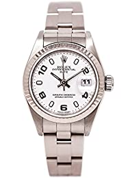 Date automatic-self-wind womens Watch 79160 (Certified Pre-owned)