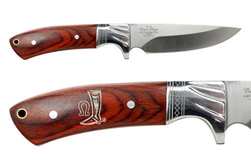 NDZ Performance Elkridge 4.5 Straight Back Fixed Blade Knife Full-Tang Bolster Cowboy Boot Texas - Texas Knife Boot