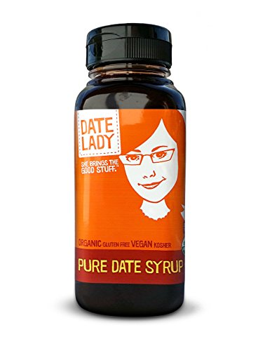 Date Lady Organic Date Syrup, Love It Size Bpa-Free Squeeze Bottle