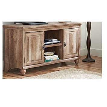 Amazoncom Crossmill Weathered Collection TV Stand for TVs up to