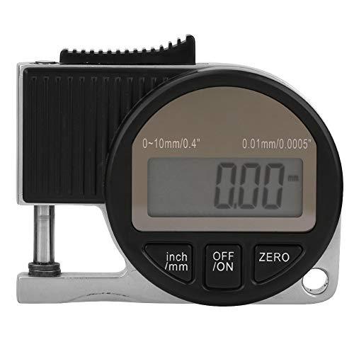 0-10 * 0.01mmデジタルディスプレイ電子厚さ計厚さ計測定ツール測定厚さ計