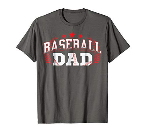 BASEBALL DAD SHIRT - BEST GIFT IDEA FOR FATHERS (MEN)